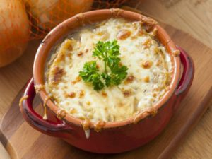 Tomato French Onion Soup