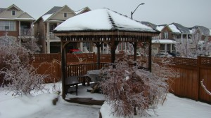Icy Gazebo at Larisa Grove